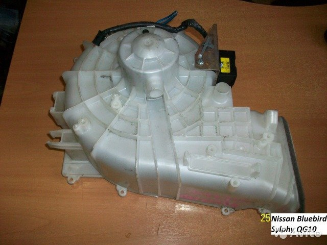 Мотор печки на Nissan Bluebird Sylphy QG10 для Nissan Bluebird