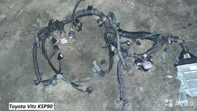 Проводка на Toyota Vitz KSP90 для Toyota Vitz