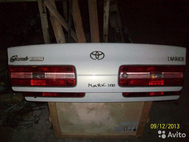 Крышка багажника в сборе на Toyota mark II GX100 для Toyota Mark
