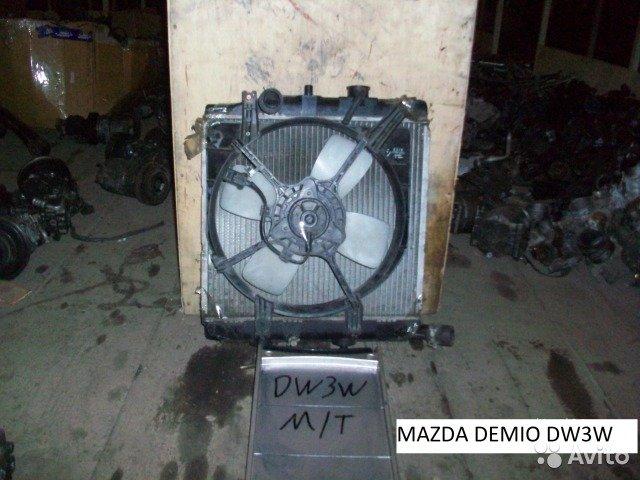 Радиатор на Mazda Demio DW3W для Mazda Demio
