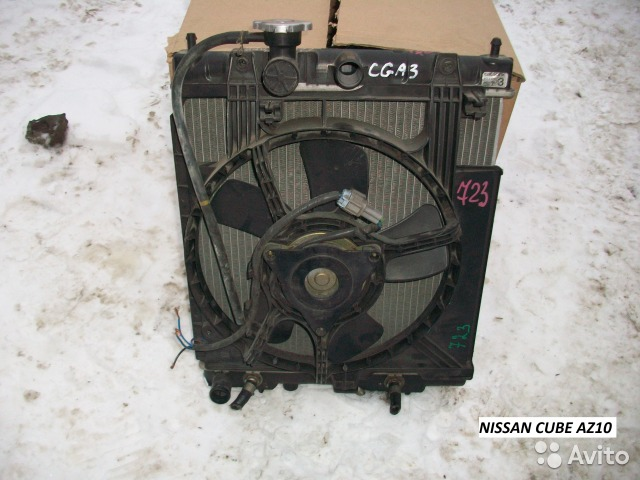 Радиатор на Nissan March K11 для Nissan March