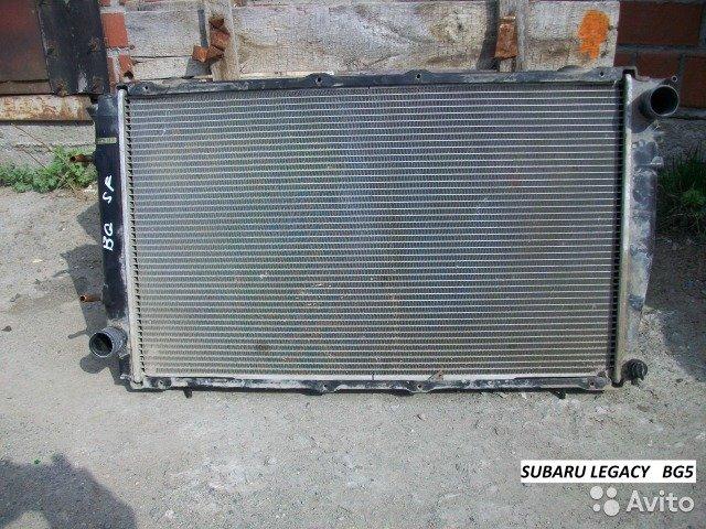 Радиатор на Subaru Legacy BD5, BG5 для Subaru Legacy