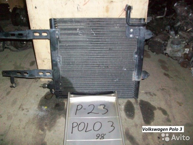 Радиатор на Volkswagen Polo 3  для Volkswagen Polo