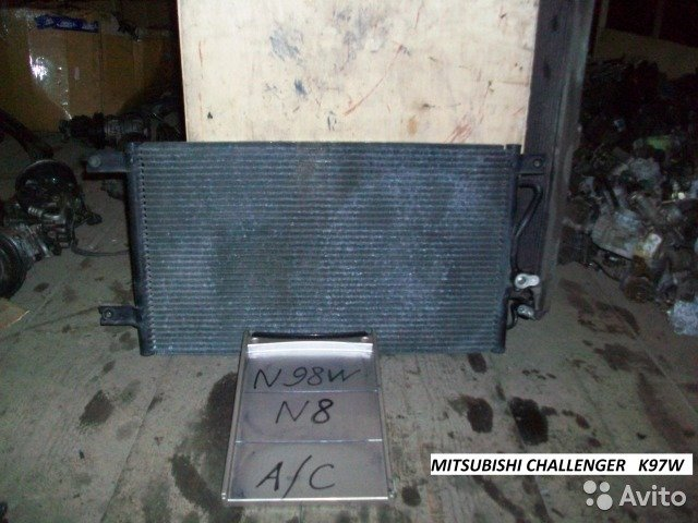 Радиатор конд на Mitsubishi Challenger K97W для Mitsubishi Challenger