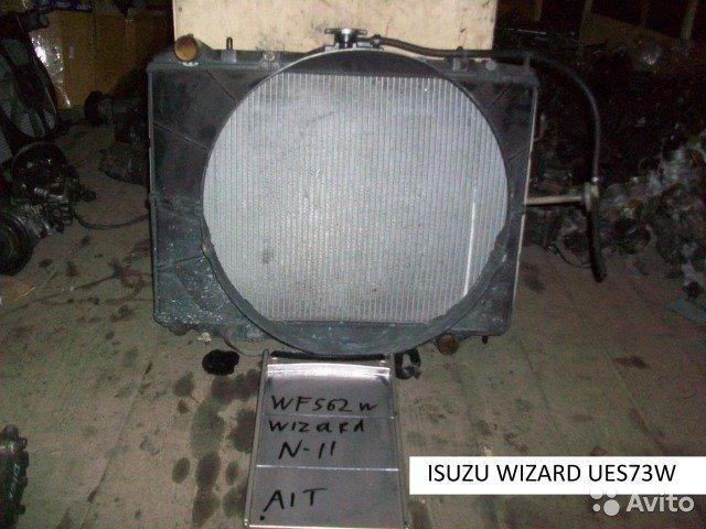 Радиатор основной на Isuzu wizard UES73W для Isuzu Wizard