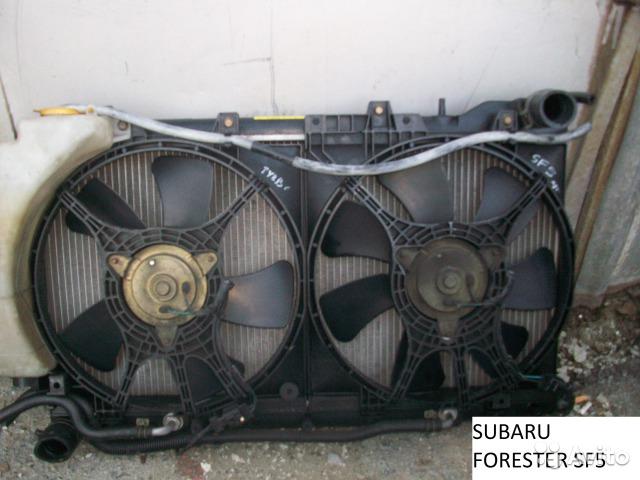 Радиатор основной на Subaru Forester SF5 для Subaru Forester