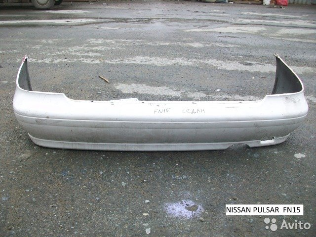 Бампер Nissan Pulsar FN15 Седан для Nissan Pulsar