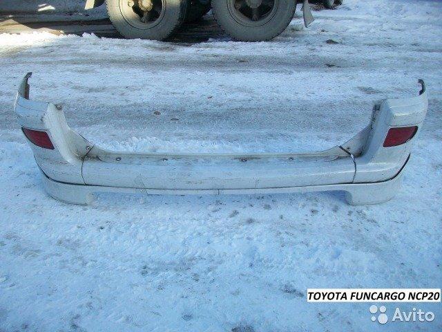 Бампер Toyota Funcargo рестайл для Toyota Funcargo