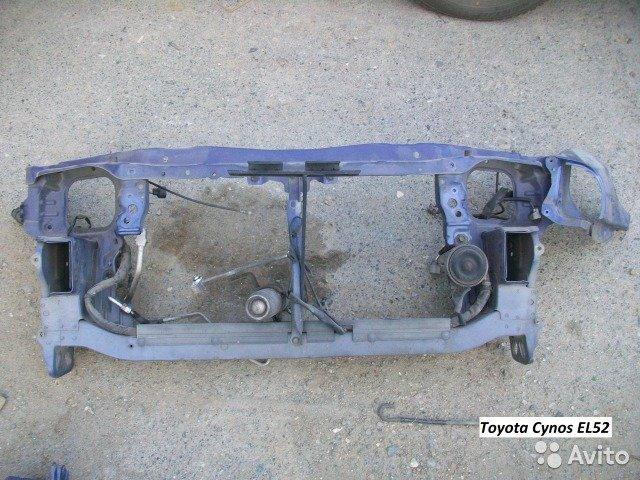 Телевизор на Toyota Cynos EL52 для Toyota Cynos