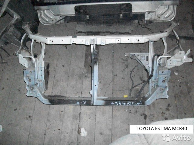 Телевизор на Toyota Estima MCR40 для Toyota Estima