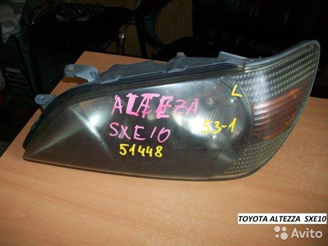 Фары на Toyota altezza SXE10 для Toyota Altezza
