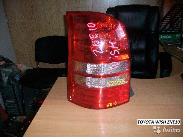 Фонари на Toyota wish ZNE10 для Toyota Toyota Wish