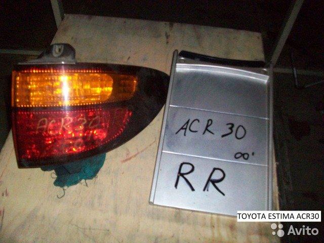 Фонарь на Toyota Estima ACR30 для Toyota Estima