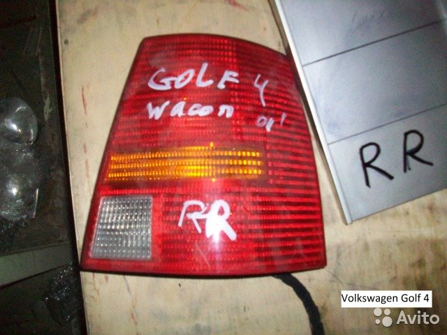 Фонарь на Volkswagen Golf 4  для Volkswagen Golf