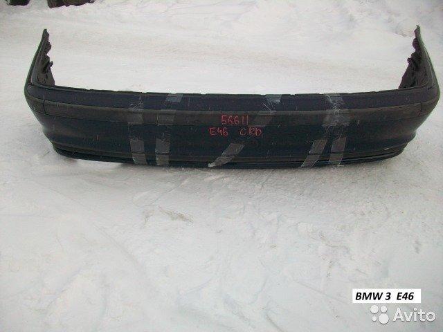 Бампер задний на BMW 3 E46 для Bmw 3 Series