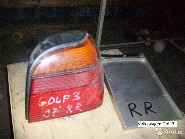 Фонарь правый Volkswagen Golf 3  для Volkswagen Golf
