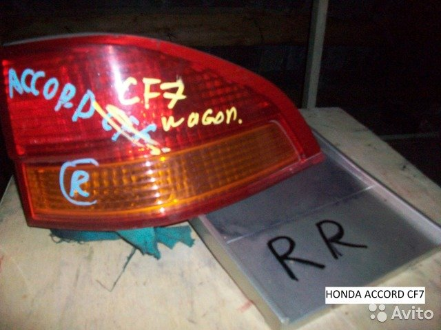 Фонарь правый на Honda Accord CF7 для Honda Accord