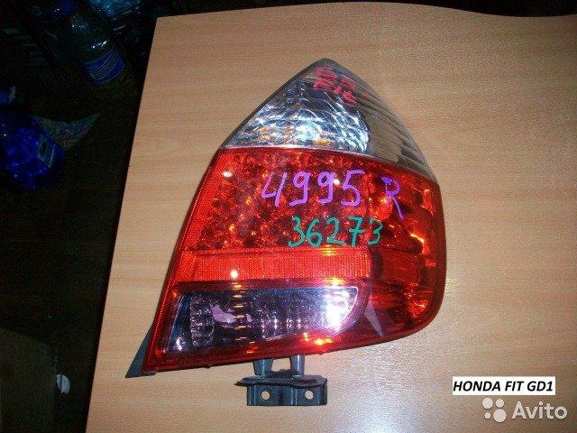 Фонарь правый на Honda FIT GD1 для Honda Fit
