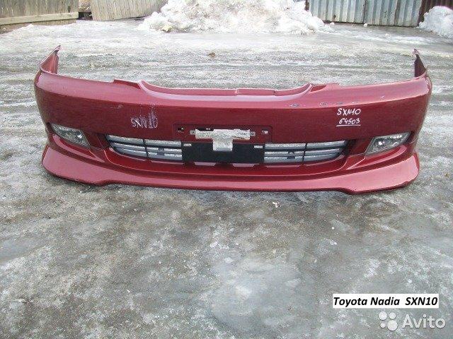 Бампер для Toyota Nadia