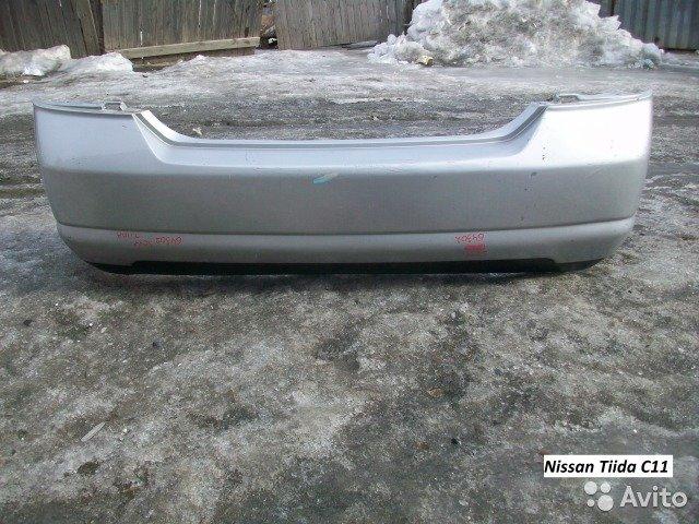 Бампер для Nissan Tiida