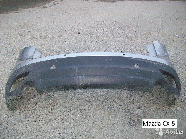 Бампер задний на Mazda CX-5  для Mazda CX-5