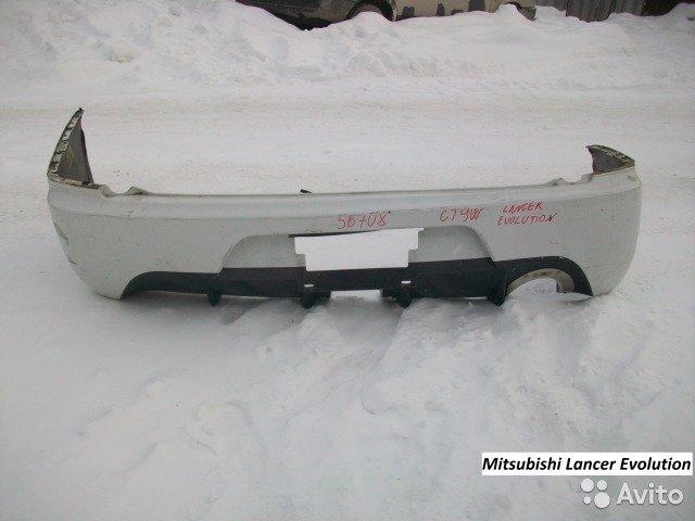Бампер задний на Mitsubishi Lancer Evolution CT9W для Mitsubishi Lancer