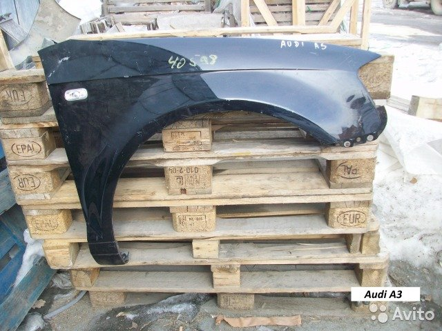 Крыло для Audi A3