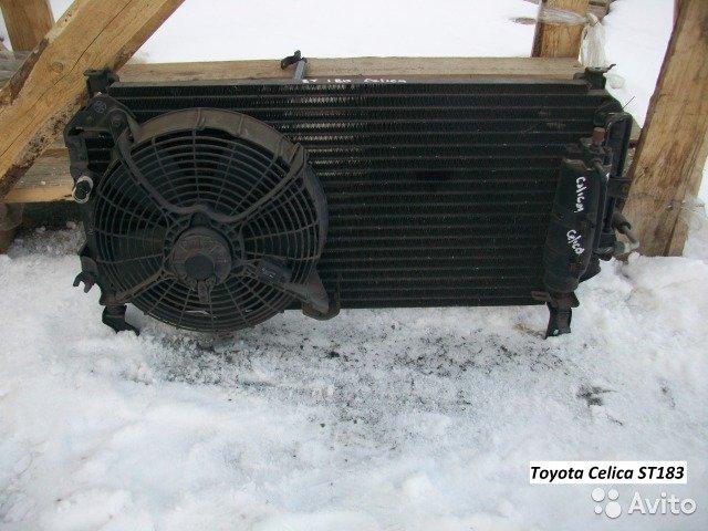 Радиатор для Toyota Celica