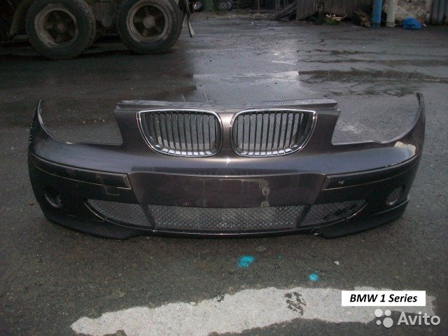 Бампер на BMW 1 Series кузов E87 для Bmw 1 Series