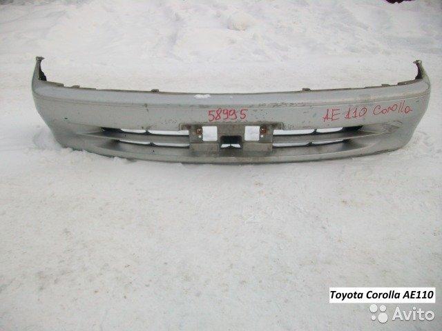 Бампер на Toyota Corolla AE110 для Toyota Corolla
