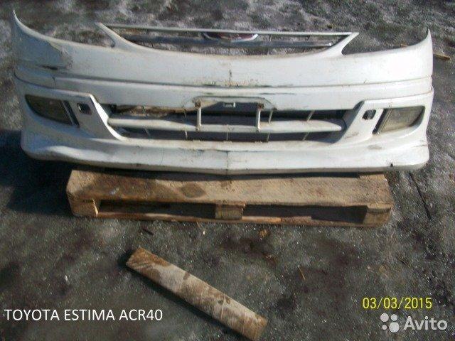 Бампер на Toyota Estima ACR40 для Toyota Estima