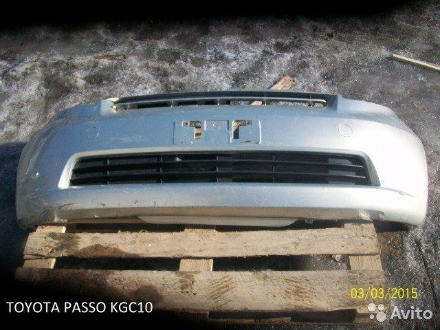 Бампер на Toyota passo KGC10 для Toyota Passo