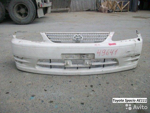 Бампер на Toyota Spacio AE111 для Toyota Spacio