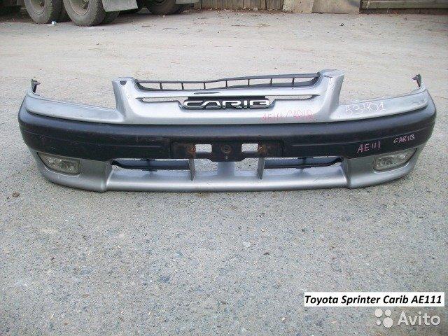 Бампер на Toyota Sprinter Carib  для Toyota Sprinter