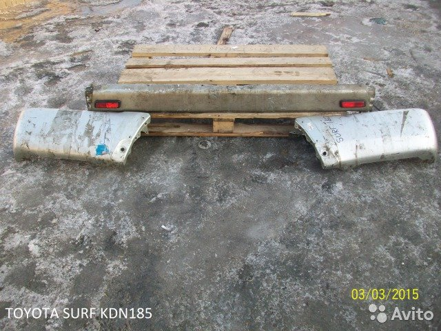 Бампер на Toyota surf KDN185 для Toyota Surf