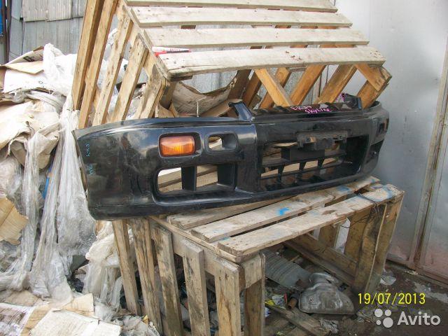 Бампер передний Nissan Skyline  для Nissan Skyline