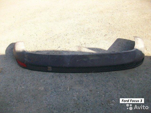 Юбка задняя на Ford Focus 3 седан для Ford Focus