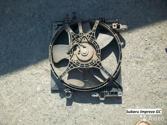 Вентилятор Subaru Impreza GC, GF для Subaru Impreza