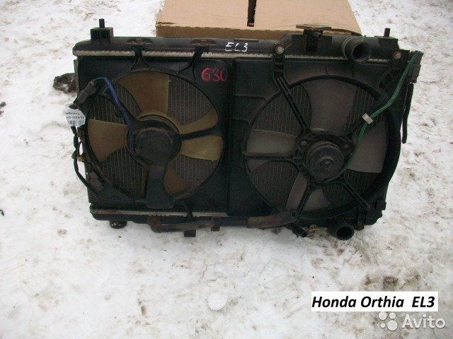 Вентиляторы на Honda Orthia EL3 для Honda Orthia