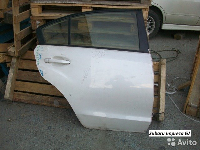 Двери на Subaru Impreza GJ для Subaru Impreza