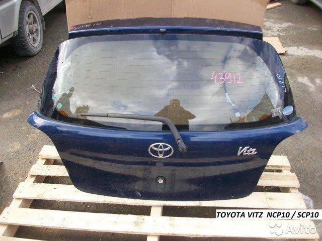 Дверь 5я Toyota vitz NCP10 / SCP10 для Toyota Vitz