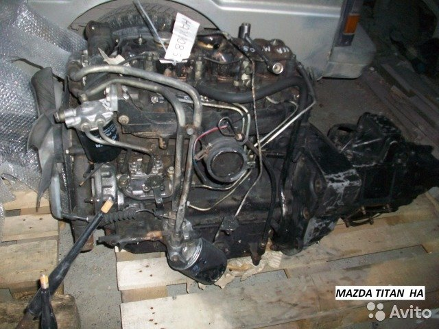 Двс HA на Mazda titan 1988г для Mazda Titan
