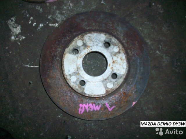 Диск тормозной на Mazda Demio DY3W для Mazda Demio