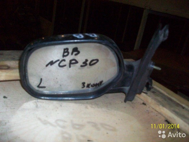 Зеркало на Toyota BB NCP30 для Toyota Bb