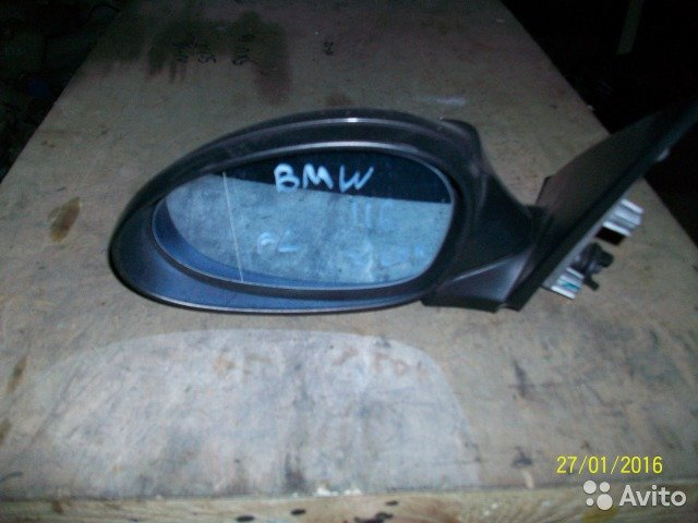 Зеркало левое на BMW 116i кузов E87 для Bmw 1 Series