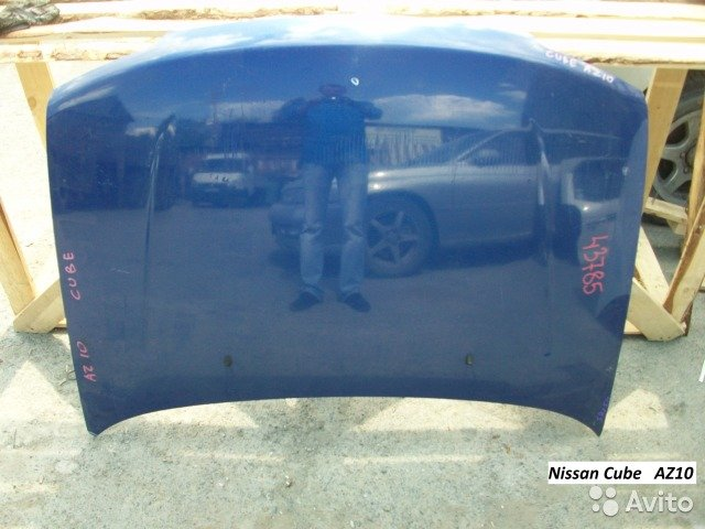 Капот на Nissan Cube AZ10 для Nissan Cube