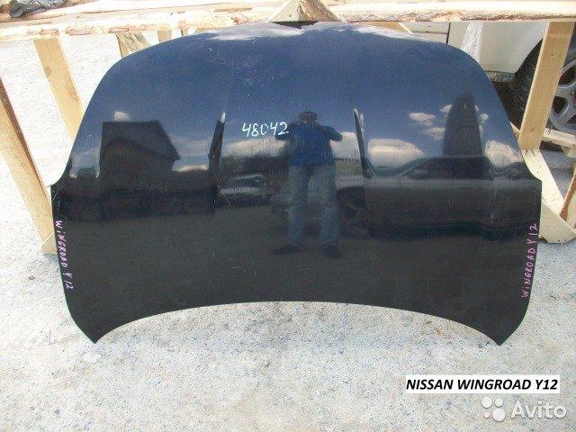 Капот на Nissan Wingroad Y12 для Nissan Ad