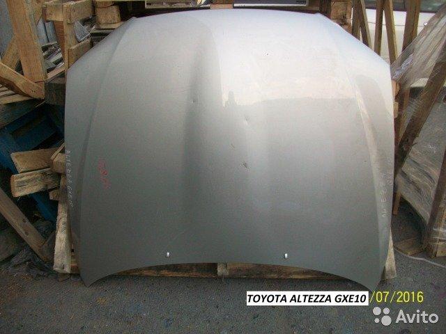 Капот на Toyota altezza GXE10 для Toyota Altezza