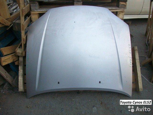 Капот на Toyota Cynos EL52 для Toyota Cynos