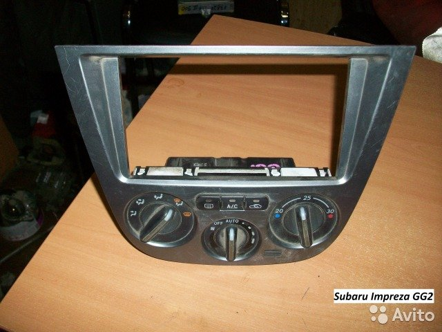 Климат-контрол Subaru Impreza GG2 для Subaru Impreza